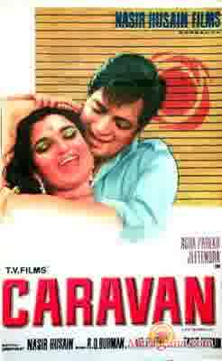 Poster of Caravan (1971) - (Hindi Film)